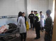 滨州一工人断指 民警争分夺秒开辟绿色生命通道