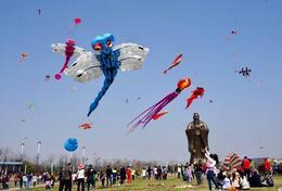 """""""设计问道""""潍坊国际风筝会创意设计展在市博物馆开展"""