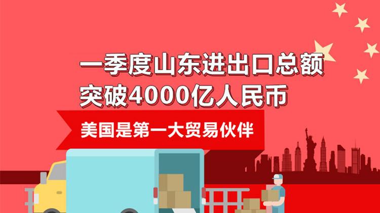 闪电指数 | 一季度山东进出口总额突破4000亿人民币