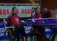 日照两名运动员在全国残疾人乒乓球锦标赛中勇夺3金一银