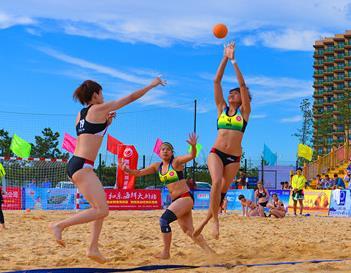 国家沙滩手球训练基地落户威海南海新区