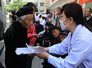 乐陵黄夹镇:为996名60岁以上农村老党员免费体检