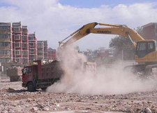 中天建设集团兖州碧桂园项目扬尘污染被罚十万