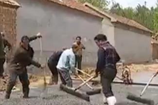 点赞!禹城28岁小伙自掏腰包30万修路 解决村民出行难