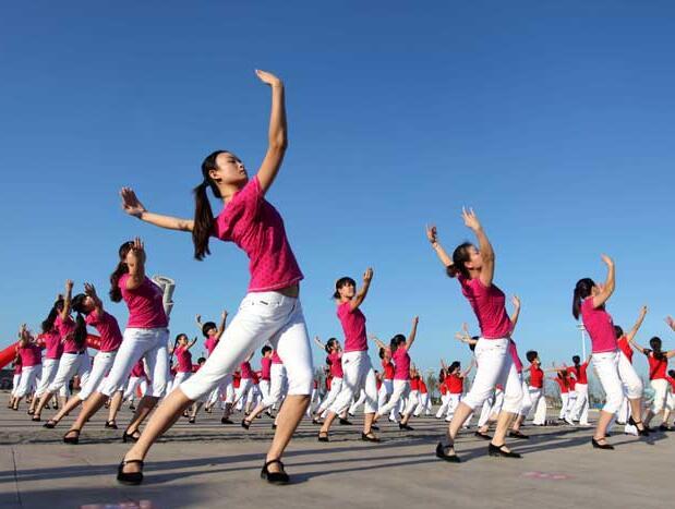 山东省第七届全民健身运动会在烟台开幕