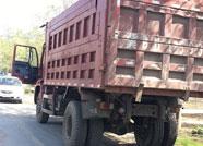 滨州惠民县交警大队大力整治渣土车违法行为
