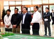 潍坊市领导赴寒亭区北张氏社区服务中心等地调研