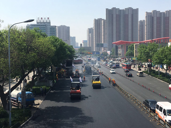 济泺路道路工程五一前将正式通车 车道双八变双九