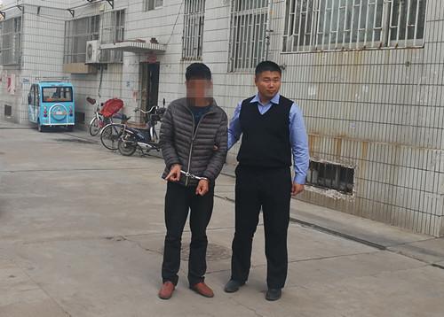 潍坊一男子公然卖分被制止  竟怀恨报复民警