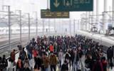 淄博火车站昨迎返程高峰 五一假期发送旅客12.5万人