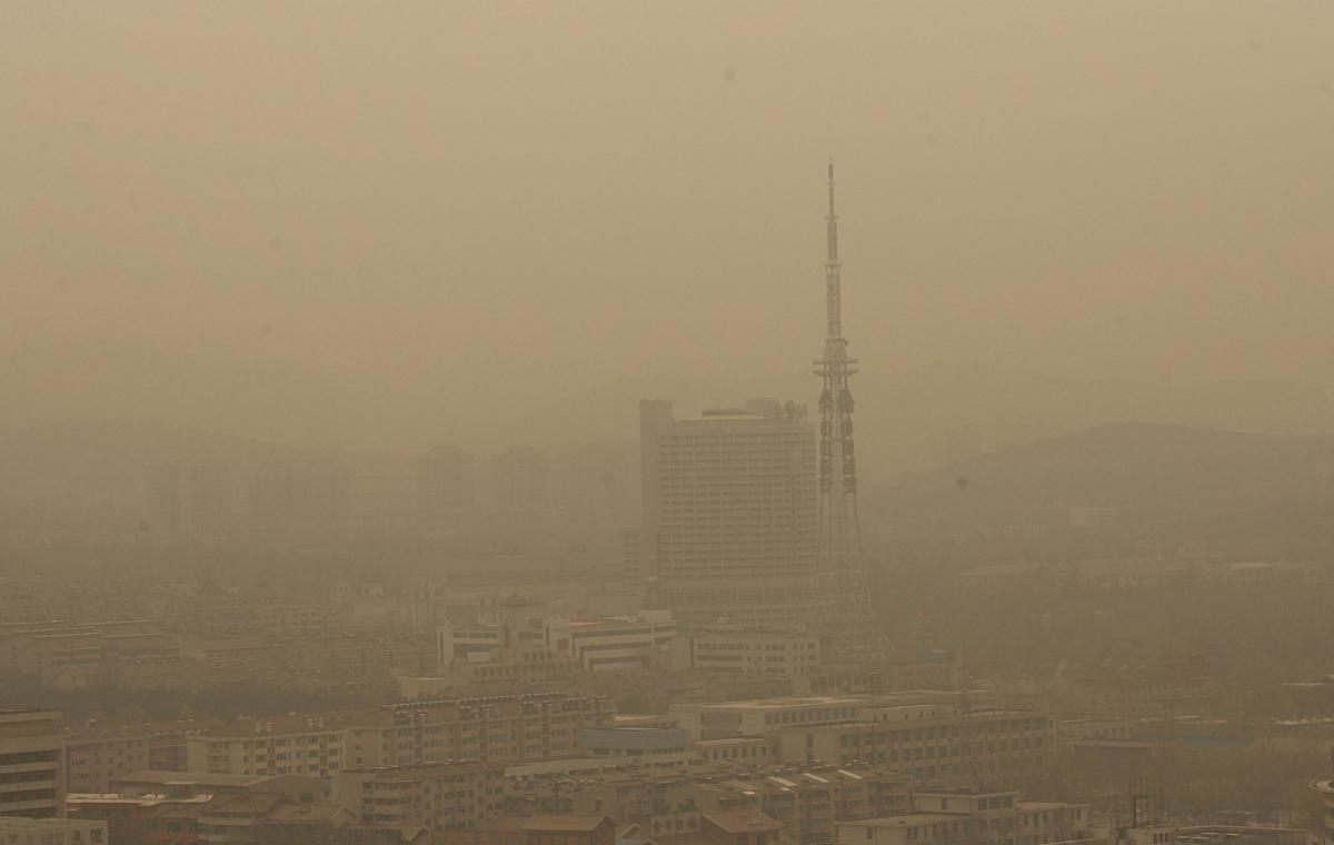 2007-2017,山东沙尘暴十年图鉴