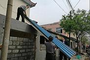 临沭:部门单位一包到底 5户沿街违建自行拆除