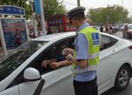 """滨州交警启动""""机动车不礼让斑马线""""抓拍模式"""