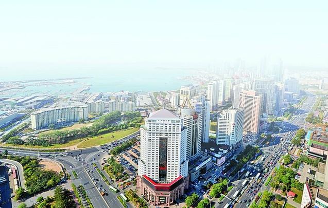 青岛市南区全年生产总值超千亿 同比增长7.7%
