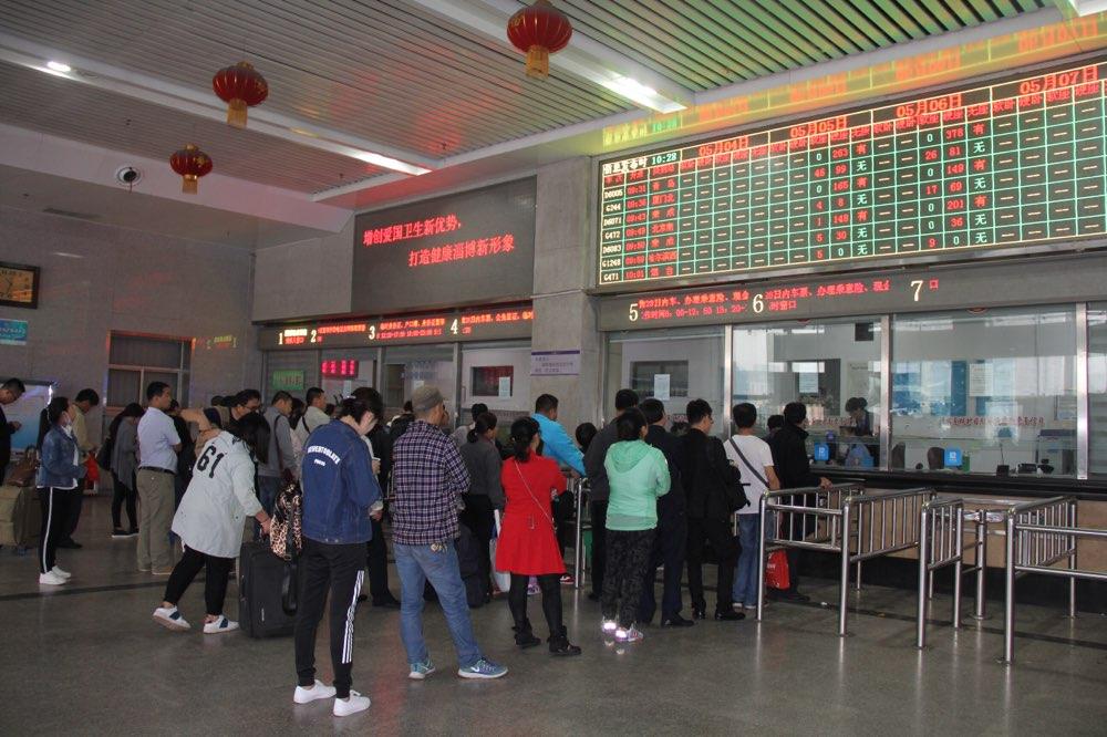因施工影响 淄博火车站5月8日至22日部分列车变化调整
