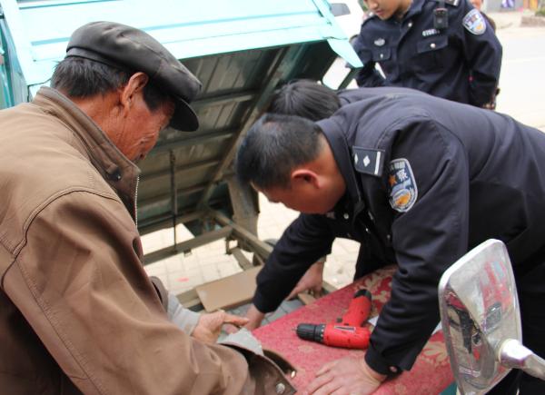 """""""防盗芯""""让群众放宽心 兰陵县电动车被盗案件发案率下降35%"""