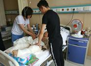 滨州惠民农妇癫痫发作被烧伤 为攒医药费女儿被迫辍学