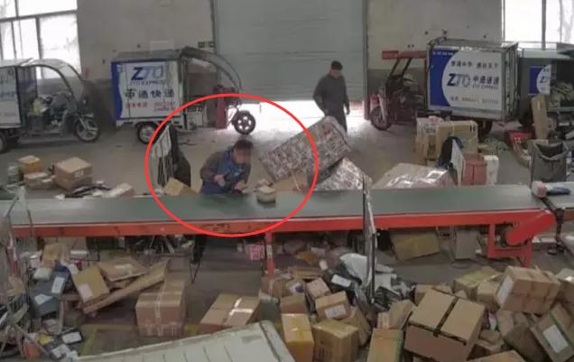 49秒|青州快递员昧下名牌面膜送老婆 民警提示:请合法秀恩爱