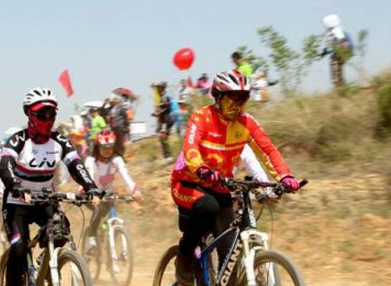 枣庄梅花山山地自行车公开赛火热开赛 国内千名健儿同台竞技
