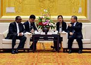 刘家义龚正会见埃塞俄比亚总理海尔马里亚姆