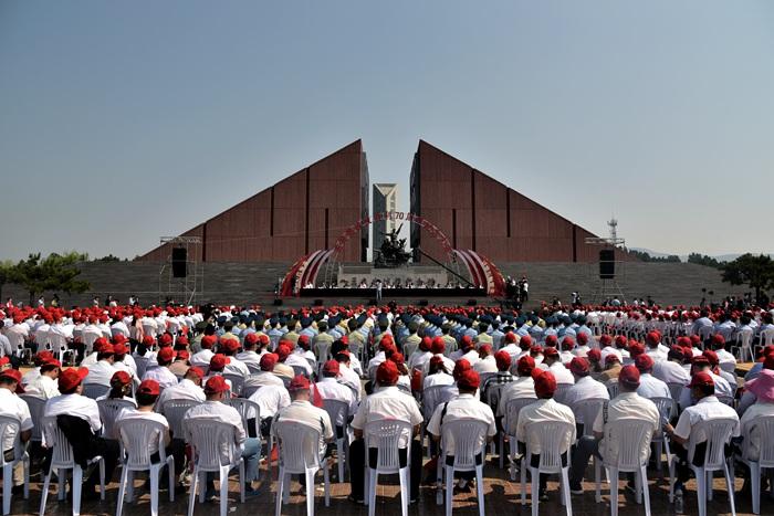 弘扬沂蒙精神 铭记历史开创未来 孟良崮战役胜利70周年纪念活动举行