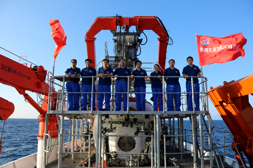 """海洋国家实验室南海深潜凯旋 """"蛟龙号""""共享航次科考成果丰硕"""