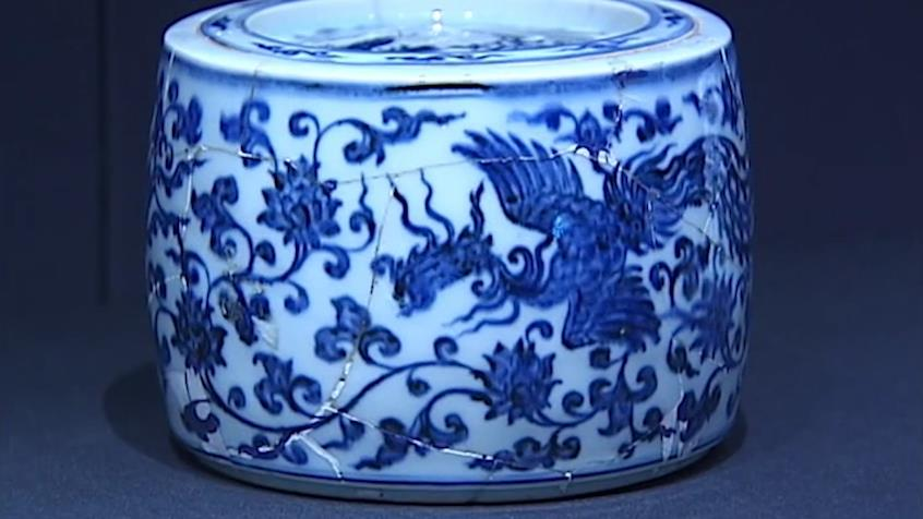 """博物馆里讲历史,明代官窑瓷器里看""""皇帝与蟋蟀"""""""
