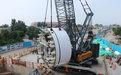 济南R3线进入地下施工阶段 首台盾构机始发