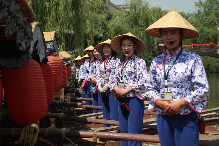 """首届台儿庄古城""""中华端午文化节""""开幕 开启非遗文化之旅"""