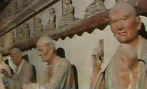济南灵岩古刹这40尊宋明时代的彩塑罗汉 件件国宝级