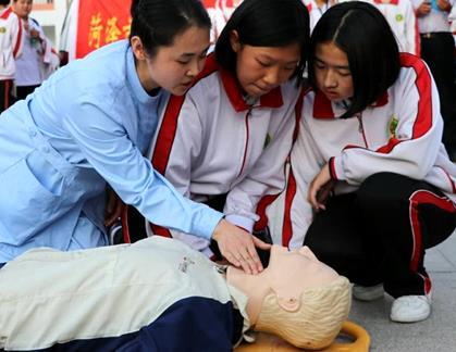 菏泽:防溺水安全教育进校园  事后救援向事前防范转变