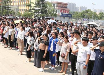 十八而志 青春万岁 临沂技师学院隆重举行成人礼仪式