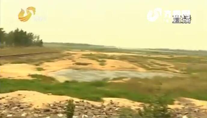 山东胶东旱情持续 青岛母亲河大沽河多处干涸