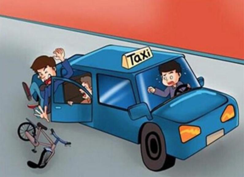 青岛一司机开车门不当引发事故 法官提醒:远手开门