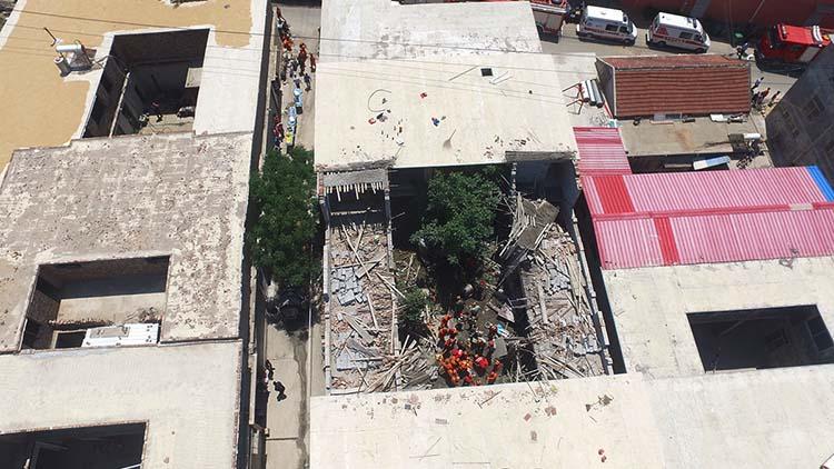 突发|济南一在建房屋坍塌 10人被埋6人已救出