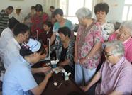 惠民县人民医院开展关爱老人健康进社区义诊活动