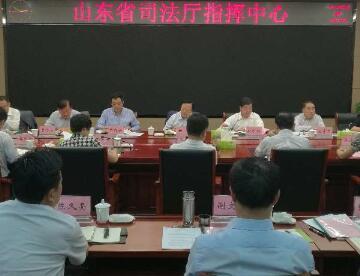 陈光带队督查省司法厅提案办理情况