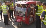 临清:非法营运三轮车整治见成效 城区道路变通畅