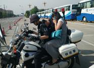 滨州一考生忘带身份证 女记者特巡警帮取回