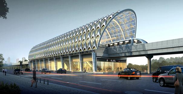 青岛地铁11号线22座车站已成型 体现海洋文化特色