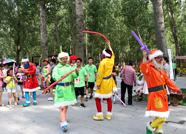 西纸坊·黄河古村端午假期活动开幕 景区客流量创6万余人新高
