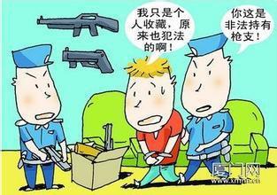 """沂南一男子""""爱好""""玩枪 私自购买非法持有被刑拘"""