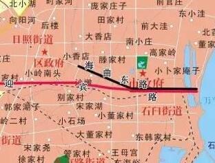 日照主城区部分道路命名更名方案征求意见