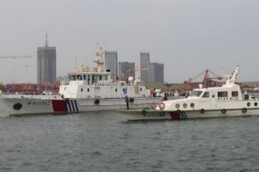 日照:有人落水失联?原来是海上搜救应急实战演练