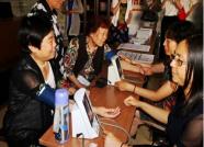潍坊樱园社区举办健康公益讲座 为居民免费体检