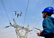 淄博供电对易发生雷击线路开展无人机巡检