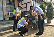 临沂区八旬老人被撞求助 好心交警帮讨公道