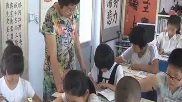 高密乡村女教师办书院免费教孩子 腾出自家房当教室