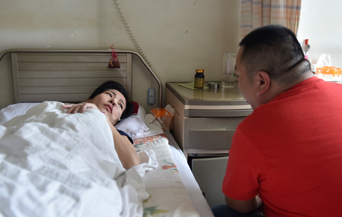 泰安女子两次罹患重症 男友坚守八年不离不弃