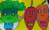 冠县中小学生参加食品安全绘画比赛 报送作品2130件